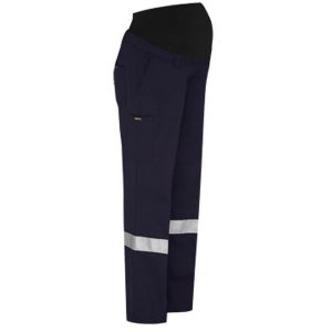 Bisley BPLM6009T 3M TAPED MATERNITY DRILL WORK PANT