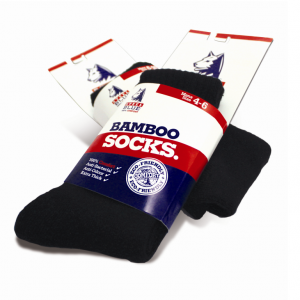 Steel Blue STE-A000076 Bamboo Socks