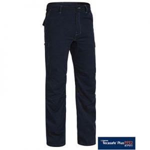 Bisley BPC8092 Tencate Tecasafe® Plus 700 Engineered FR Vented Cargo Pant