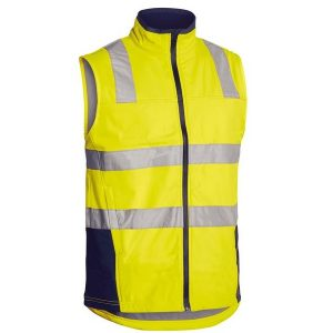 Bisley BV0348T TAPED HI VIS SOFT SHELL VEST