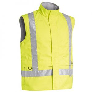 Bisley BV0363T 3M TAPED HI VIS WET WEATHER ANTI STATIC VEST