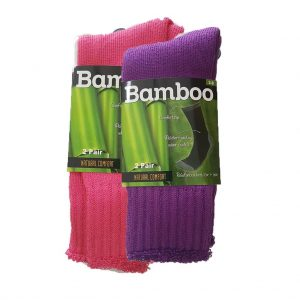 Judds Ladies Two Pack Bamboo Socks