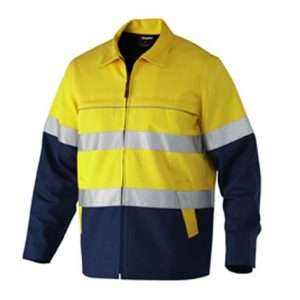 KingGee K55905 Reflective Spliced Drill Jacket