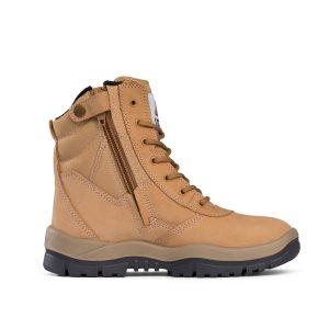 Mongrel Boots 251050 Safety Wheat High Leg ZipSider Boot