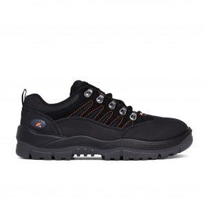 Mongrel Boots 390080 Safety Black Hiker Shoe
