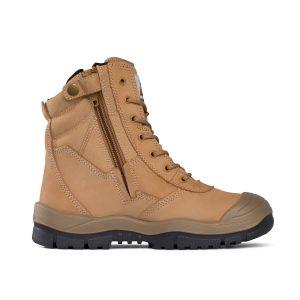 Mongrel Boots 451050 WHEAT HIGH LEG ZIPSIDER SAFETY BOOT