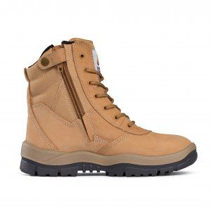 Mongrel Boots 951050 Wheat High Leg ZipSider Boot Non Safety