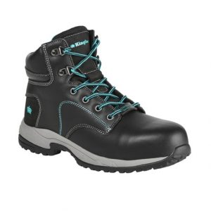 KingGee K27360 Women's Tradie 130mm Side Zip Black