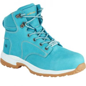 KingGee K27370 Women's Tradie 130mm Side Zip Teal