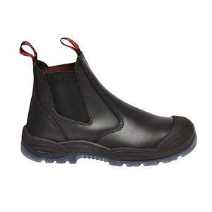 HARD YAKKA Y60165 UTILITY GUSSET SAFETY BLACK