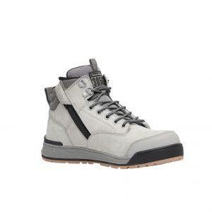 Hard Yakka Y60202 3056 Zip Side Safety Boot Grey