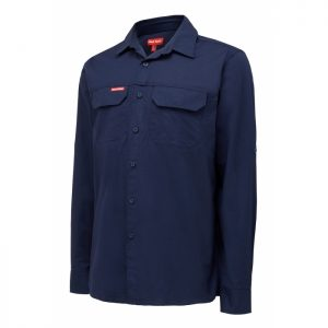 HARD YAKKA Y04305 Flex Ripstop Shirt