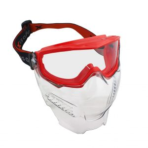 MAXISAFE EUV350C Maxipro Goggle & Visor Combo