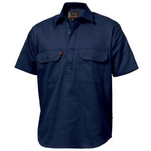 KingGee K04060 Closed Front Drill Shirt S/S