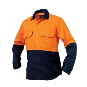 KingGee K54015 Spliced Drill Shirt