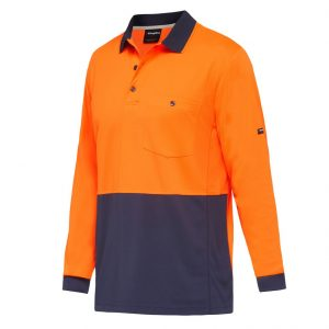KingGee K54235 Workcool Hyperfreeze Spliced Polo L/S