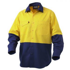 KingGee K54870 Workcool 2 Spliced Shirt L/S