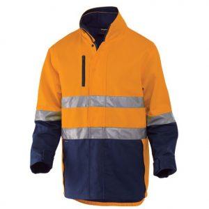 KingGee K55400 Reflective 3 in 1 Cotton Jacket