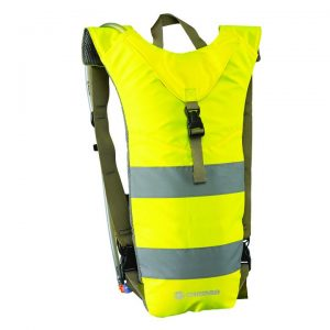 CARIBEE 63241 Nuke 3L Hi Vis hydration backpack Yellow