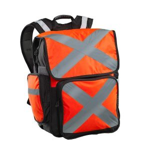 CARIBEE 11802 Pilbara 34L safety backpack Orange/Black