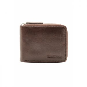 HARD YAKKA Y22378 LEATHER ZIP WALLET