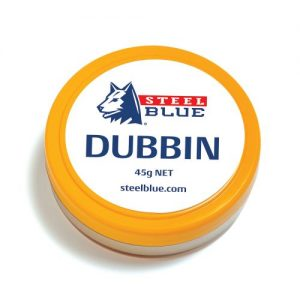 Steel Blue A-000014 Dubbin Black