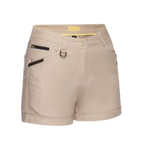 BISLEY BSHL1045 WOMENS FLEX & MOVE™ SHORT SHORT