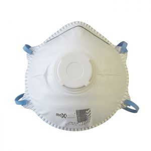 MAXISAFE RES514 P2 Valved Conical Respirator