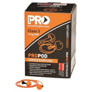 PRO CHOICE EPODC PROPOD CORDED EAR PLUGS