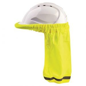 PRO CHOICE HHNSS HARD HAT NECK SUN SHADE FLURO YELLOW