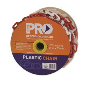 PRO CHOICE PCRW825 8MM RED/WHITE CHAIN