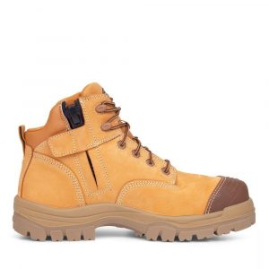 OLIVER 45-630Z 130MM WHEAT ZIP SIDED HIKER BOOT