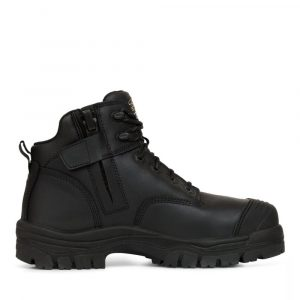 OLIVER 45-640Z 130MM BLACK ZIP SIDED HIKER BOOT
