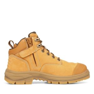 OLIVER 55-330Z 130MM WHEAT ZIP SIDED HIKER BOOT
