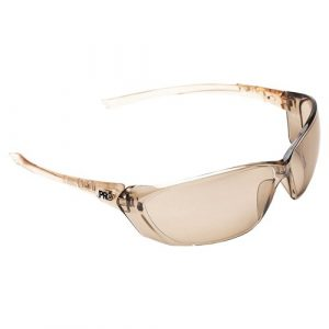 PRO CHOICE 6309 RICHTER SAFETY GLASSES LIGHT BROWN MIRROR LENS