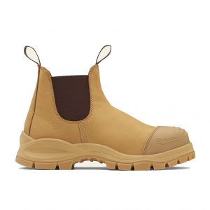 Blundstone 989 UNISEX ELASTIC SIDE SERIES SAFETY BOOTS - WHEAT