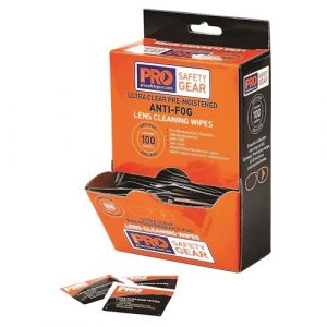 PRO CHOICE AFW100 ANTI-FOG LENS WIPES 100 PACK