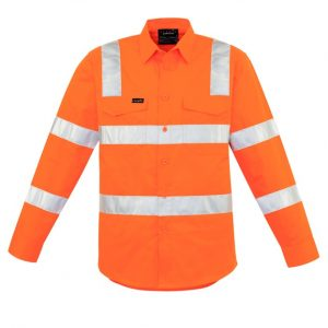 Syzmik ZW680 Mens Bio Motion Vic Rail Shirt