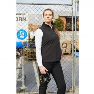 Rainbird 8575 Freeman Womens Softshell Vest