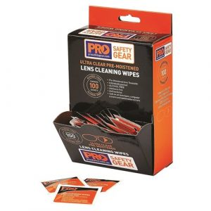 PRO CHOICE LC100AF LENS CLEANING WIPE - ALCOHOL FREE 100 PACK