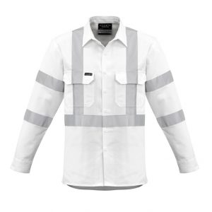 Syzmik ZW621 Mens Bio Motion X Back Taped Shirt