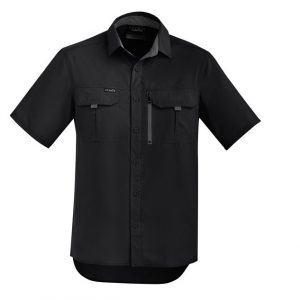 Syzmik ZW465 Mens Outdoor S/S Shirt