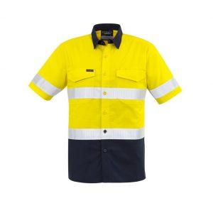 Syzmik ZW835 Mens Rugged Cooling Hi Vis S/S Shirt