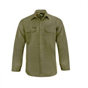 Workcraft WS3020 L/S Cotton Drill Shirt