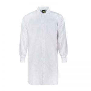 Workcraft WJ3011 Food Industry Dustcoat with Internal Chest Pocket- L/S