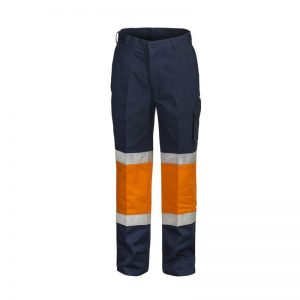 Workcraft WP3066 Modern Fit Cotton Drill Cargo Trouser w/Contrast Knee