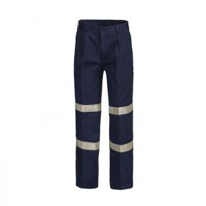 Workcraft WP3045 Classic Pleat Cotton Drill Trouser