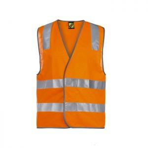 Workcraft WV7001 Unisex Hi Vis Safety Vest