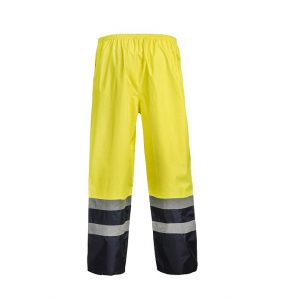 Workcraft WW9006 Hi Vis Two Tone Waterproof Pant with CSR Reflective Tape