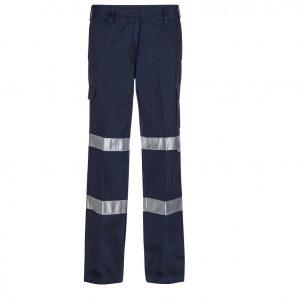 Workcraft WPL075 Ladies Mid Weight Cargo Cotton Drill Trouser
